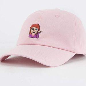 ... Pink Dad Emoji Hat ... cb5afaaa428d